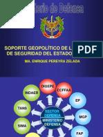 La Geopolitica Como Soporte de La Politica de Seg. y Def. Na