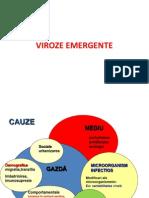 CURS 11. Viroze Emergente Grup