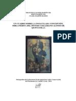 Un cuadro sobre La Inmaculada Concepción, obra inédita del pintor cuellerano Alonso de Quintanilla