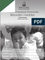 Febrero y Marzo Evaluacion de Honduras