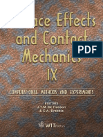 Surface Effects and Contact Mechanics IX