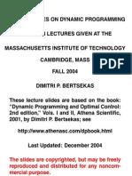 MIT Dynamic Programming Lecture Slides