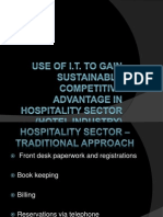IT in Hospitality Sector