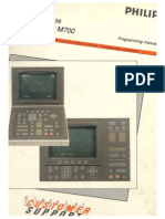 MAHO Philips 432 M700 - Programming Manual