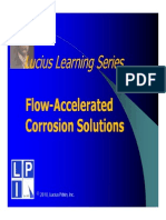 Flow Accelerated Corrosion (FAC)