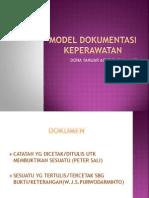 15422148 Model Dokumentasi Keperawatan