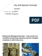 Biodiversity and Species Concept