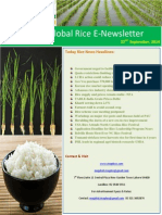 22nd September,2014 Daily Global Rice E-Newsletter by Riceplus Magazine