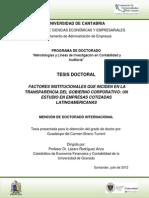TD - FACTORES INSTITUCIONALES QUE INCIDEN EN LA TRANSPARENCIA DEL GOBIERNO CORPORATIVO . CASO EMPRESAS COTIZADAS LATINOAMERICANAS.pdf