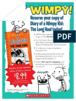 Diary of a Wimpy Kid 9 flyer
