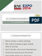 firm expo - 12 commandments of client service