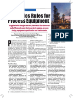 Heurastic Rules for Process Plants