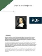 El Concepto de Dios de Spinoza