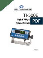 Manual Transcell Ti500e