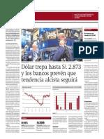 Dólar Seguirá Con Tendencia Alcista_Gestión 23-09-2014