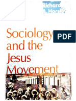 R. Horsley, Sociology of the Jesus Movement, Cap 2