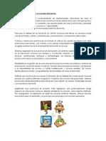 PRINCIPIOS Y POLITICAS DE LA CALIDAD EDUCATIVA, innovacion metodologia, enfoques curriculares, acciones docentes paradigma educativa.docx