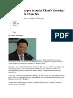 PH Justice Carpio Debunks China