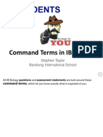 Command Terms in IBDP