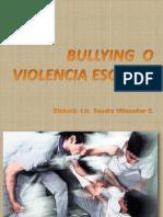 Bullying o Violencia Escolar