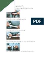 Hướng Dẫn Cách Lắp Ống Hàn Nhiệt PPR