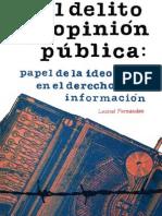 Leonel Fernández - El Delito de Opinión Pública