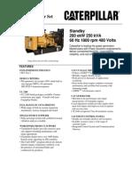 generador electrico C9 Spec Sheet rated 200 kW.pdf