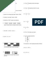 Soalan Matematik Tahun 5