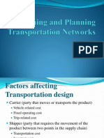Designing and Planning Transportation Networks