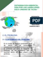 La Contaminacion Ambiental Producida Por Las 1 Diapo