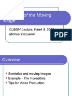 Semiotics of the Moving Image 08