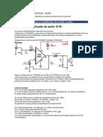 Proyecto Electronico Amplificador de Audio