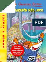 Stilton 46 - El Maratón Más Loco - Geronimo Stilton