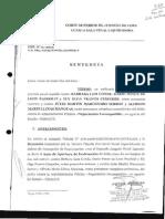 Sentencia Exp N01-2010
