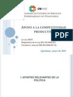 Competitividad Productiva Procompite 1