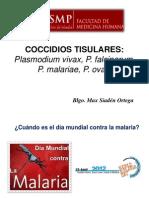 Plasmodium USMP 2014-II.ppt
