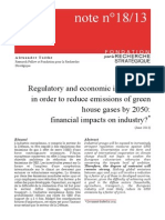 Regulatory and Economic Instruments in Order to Reduce Emissions of Green