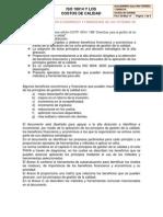 ISO 10014 y Los Costos de Calidad