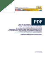 CADIVI Manual de Normas y Procedimientos Para La Consignación de Documentos