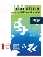 UNESCO -Lenguas y Educacion