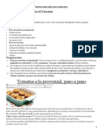 Recetas Light Dieta Javi y Gema 2014