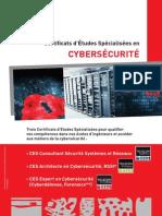 Plaquette CES Cybersécurité