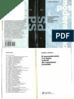 59472984 Jameson El Posmodernismo o La Logica Cultural Del Capitalismo Avanzado