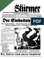 Der Stuermer - 1939 Nr. 32 (10 S., Scan, Fraktur).pdf