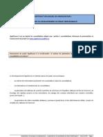 AppliConso II - CONCEPTION D'UN LOGICIEL DE CONSOLIDATION AVANCEMENT DU DEVELOPPEMENT DU PROJET APPLICONSO II au 15122009