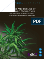The Rise and Decline of Cannabis Prohibition