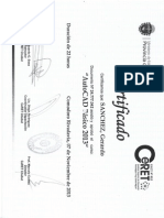 Certificado AutoCAD Básico