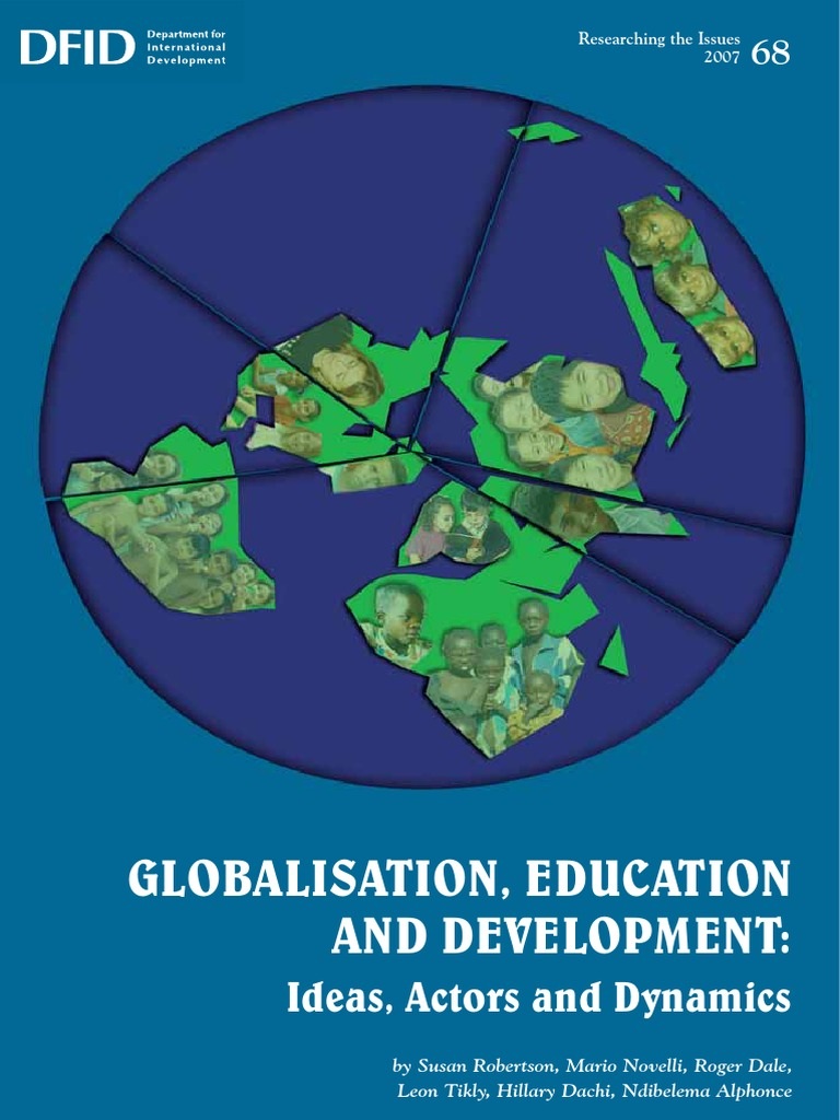 Global-education Roger Dale | Globalization | Washington Consensus