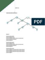 REDES II - Configuración de Routers II