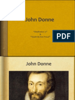 John Donne Powerpoint